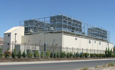 Data center Google dans l'Oregon