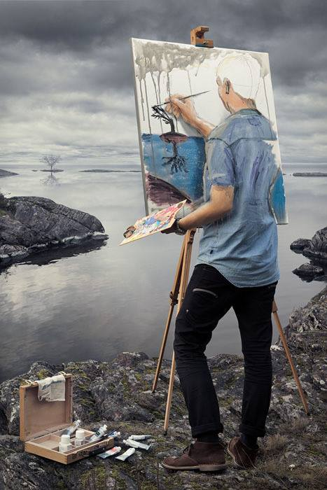 peintre-tableau