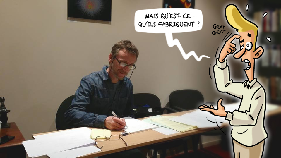 Hervé Hubert dessine l'Hypnose Humaniste